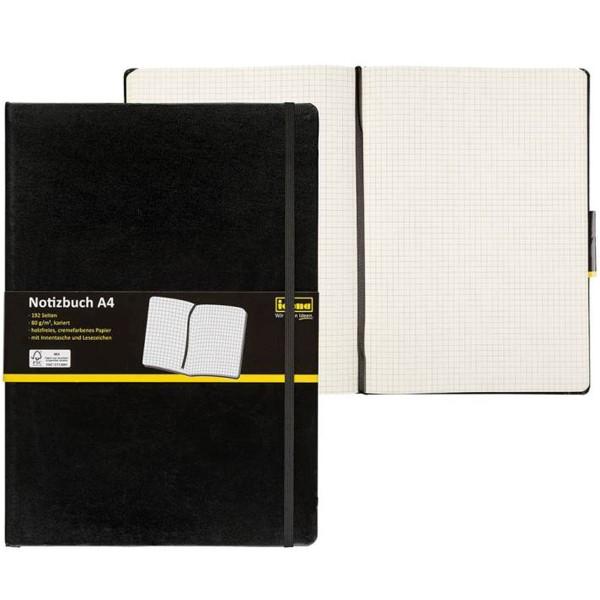 Idena Notizbuch A4 (verschiedene Linaturen)