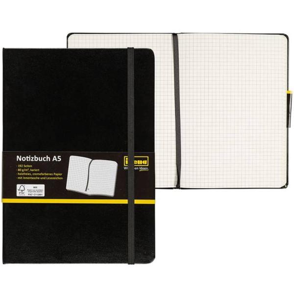 Idena Notizbuch A5 (verschiedene Linaturen)