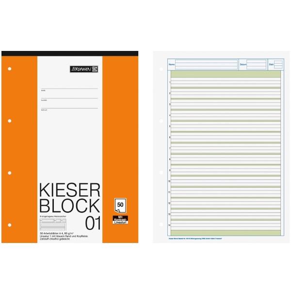 Brunnen Kieser-Block DIN-A4