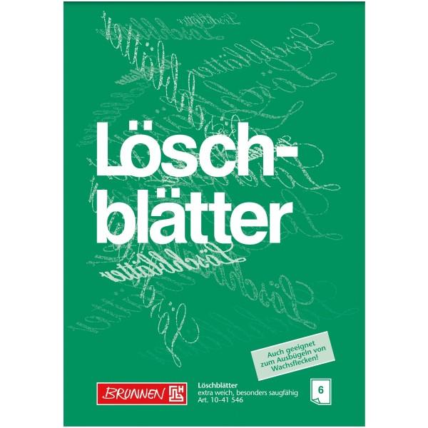 Brunnen Löschblattblock A4