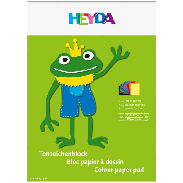 Heyda Tonzeichenblock A4