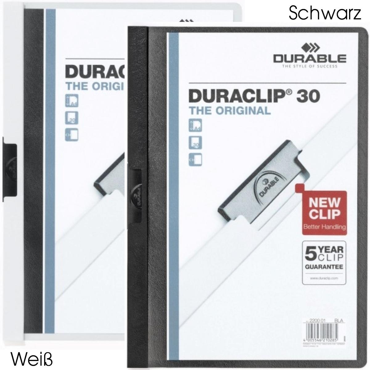 Durable Duraclip 30 Klemmmappe