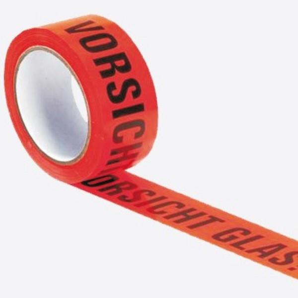 """WIHE-lux Warndruckbänder (""""Vorsicht Glas"""")"""