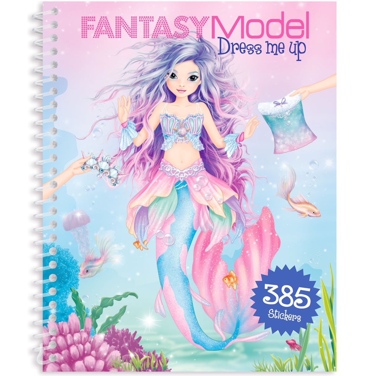 Stickerbuch Me Model Dress Fantasy Depesche Topmodel Mermaid 10445 Up SzUMpGqV