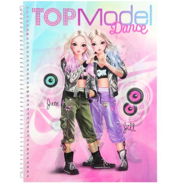 Depesche TOPModel DANCE Sticker & Design Fun 10202