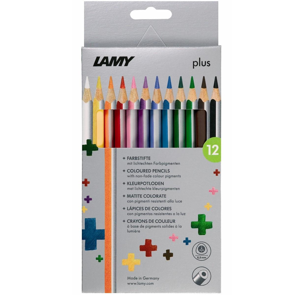 LAMY plus 12er-Set-Faltschachtel Farbstifte 530