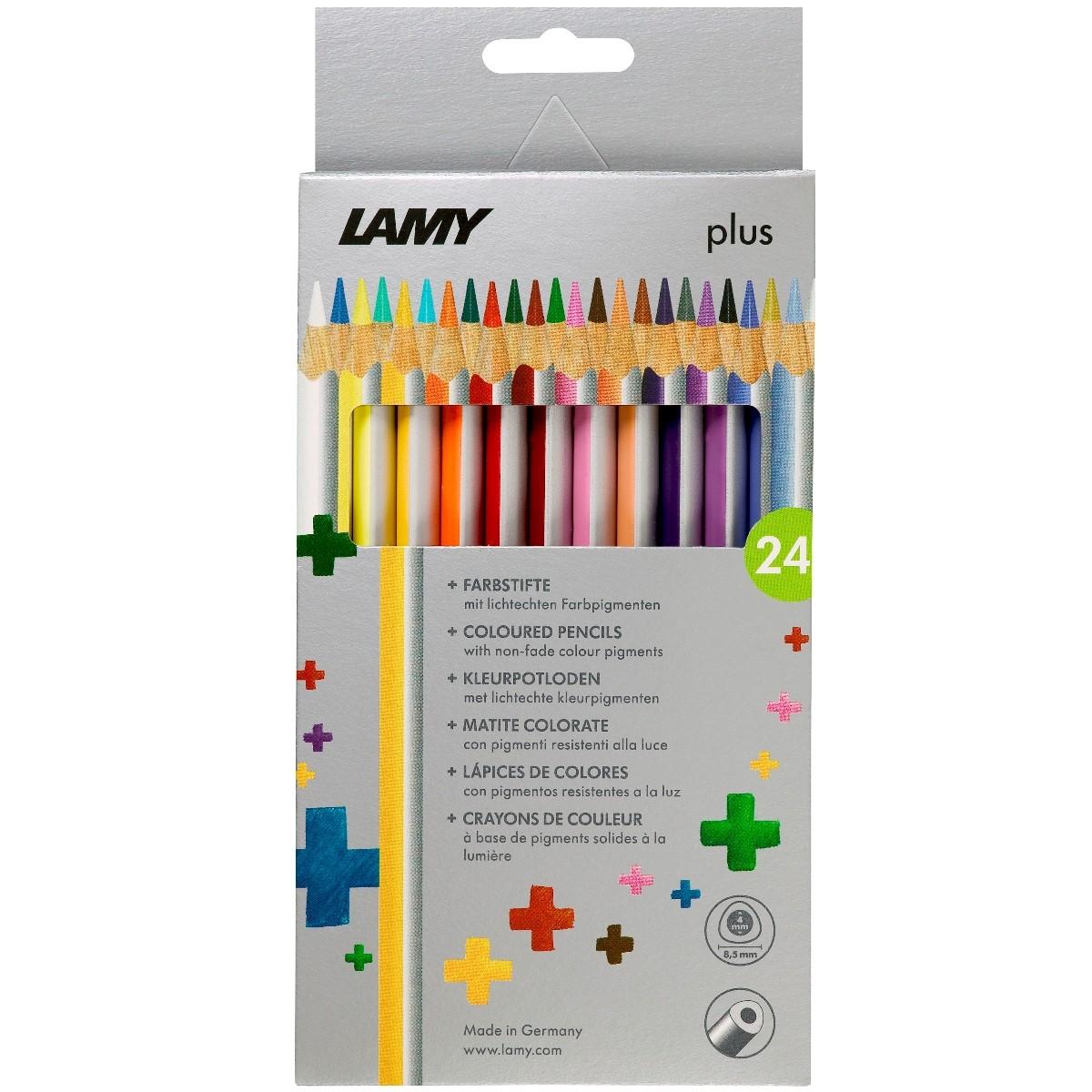 LAMY plus 24er-Set-Faltschachtel Farbstifte 530