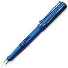 LAMY safari blue blau Füllhalter 14 EF