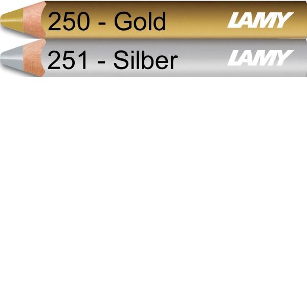 LAMY 3plus Silber Farbstift 251
