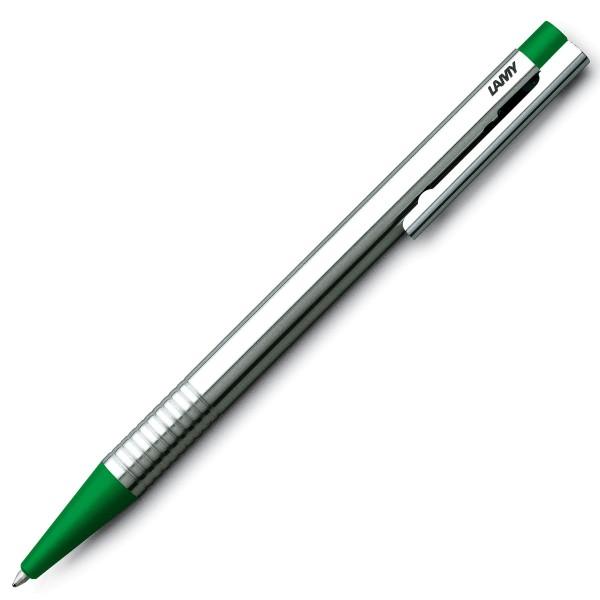 LAMY logo silber / grün Kugelschreiber 205
