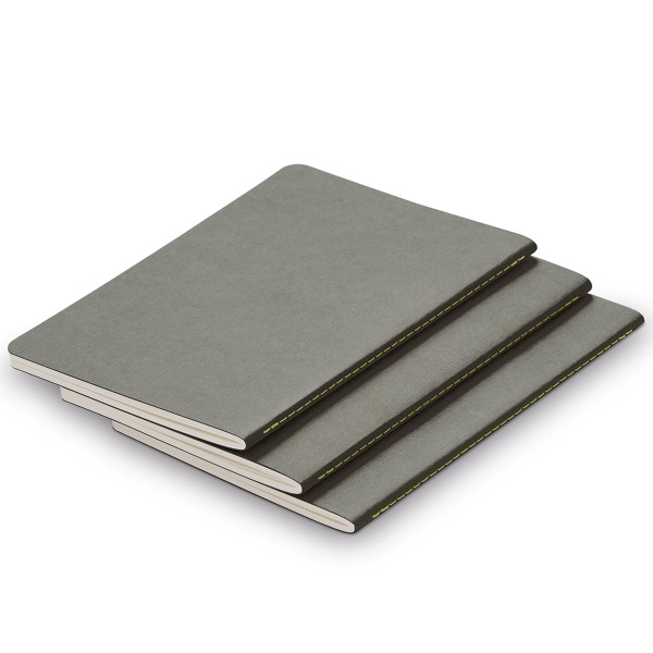 LAMY Notizbuch paper Booklet grey (3er Set)