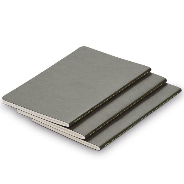 LAMY Notizbuch paper Booklet grey (3er Set)