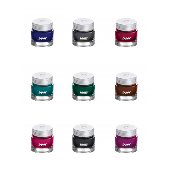 Lamy T53 Crystal Ink, Special Angebot, 3x 30ml, Farbauswahl nach Wunsch