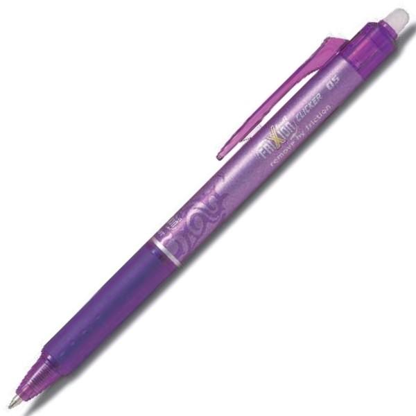 Pilot Tintenroller Frixion Ball Clicker (violett, 0,5 mm)