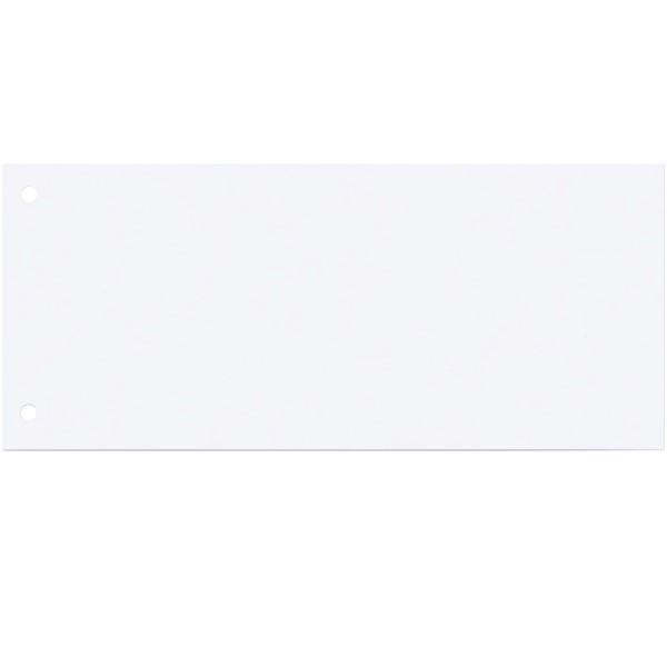 Q-Connect Trennstreifen in Weiß 10,5 x 24 cm 100 Stk. KF00515