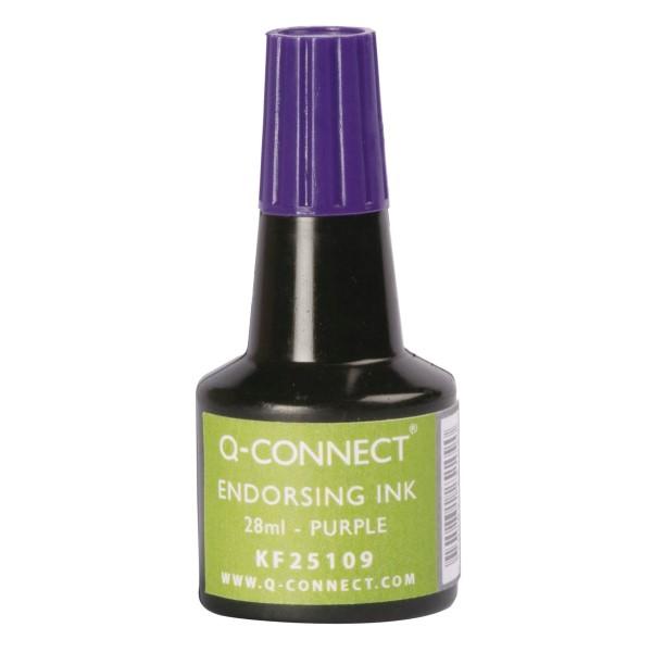 Q-Connect Stempelfarbe 30ml violett KF25109