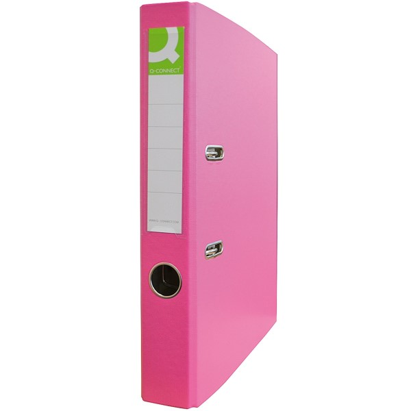 Q-Connect Ordner PP (Pink - 50mm) - KF18737
