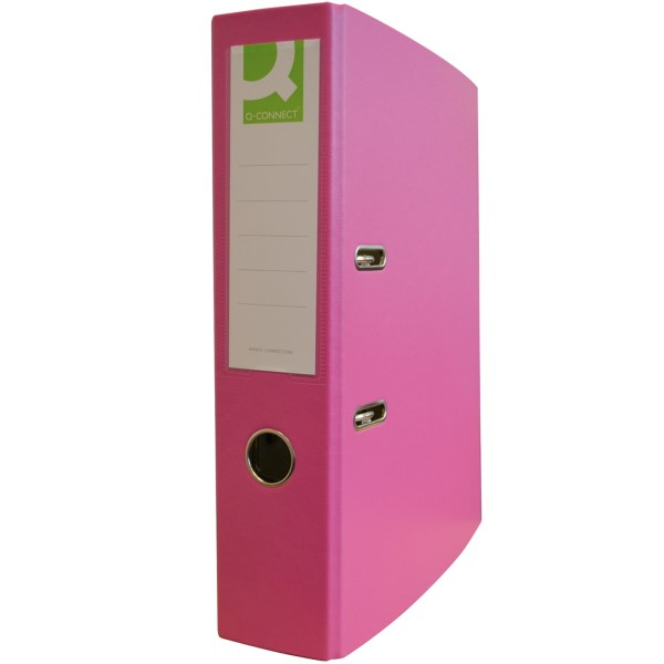 Q-Connect Ordner PP (Pink - 80mm) - KF18726