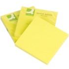 Q-Connect Haftnotizen gelb 100 Blatt - KF10500