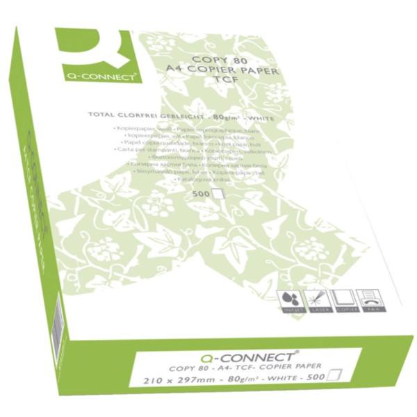 Q-Connect Kopierpapier A4 80g. weiß - KF01087