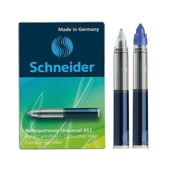Schneider Rollerpatrone Universal 852 (blau, löschbar)