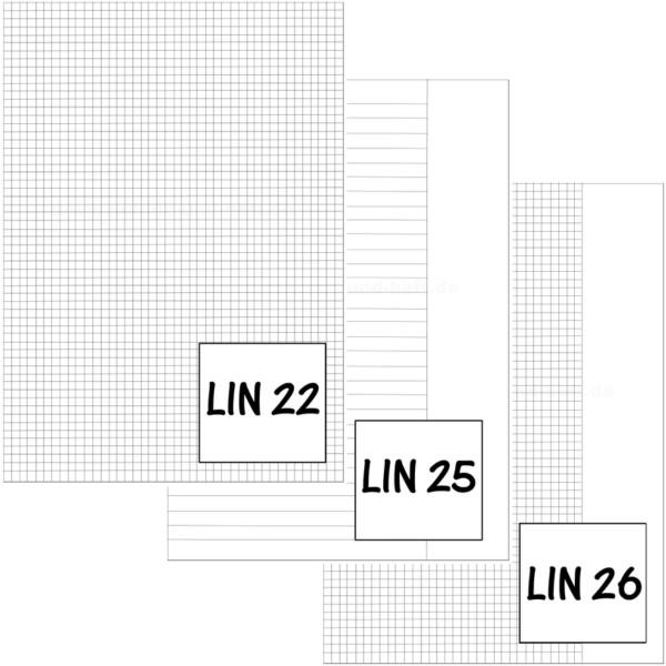 Schulheft DIN-A4 Lin. 22