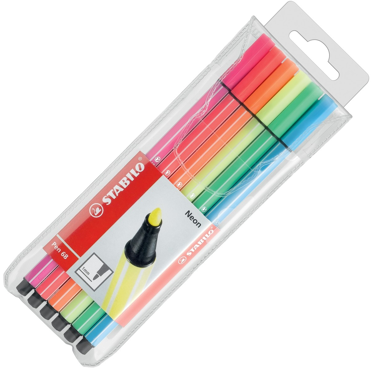 Stabilo Fasermaler Pen 68 6er Etui 6806-1