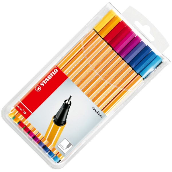 Stabilo Fineliner point 88 20er Etui 8820