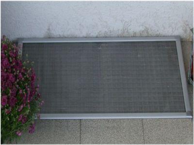 LSA mit Aluminium-Rahmen und Edelstahlgewebe