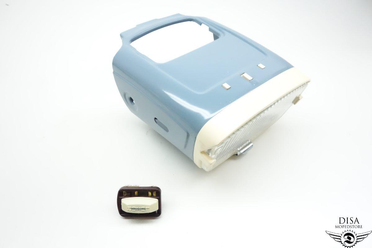 motobecane mobylette scheinwerfer blau original neu ebay. Black Bedroom Furniture Sets. Home Design Ideas