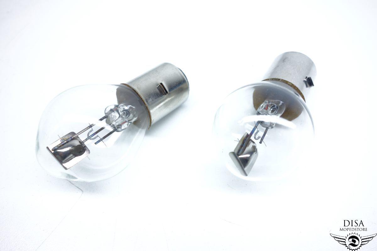 Zündapp R 50 Roller Scheinwerfer Birne 6 Volt 25//25 Watt Bilux Glühlampe NEU