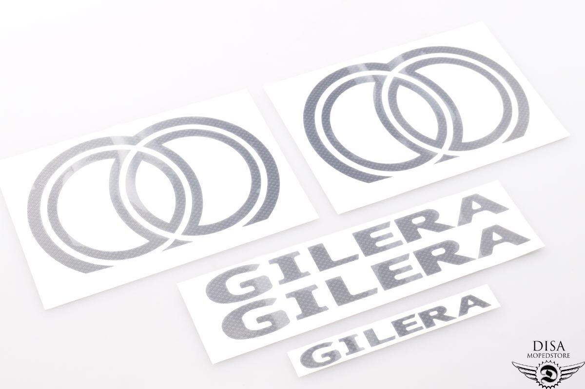 Gilera Runner Verkleidung Sticker Aufkleber Carbon Schwarz NEU * | eBay
