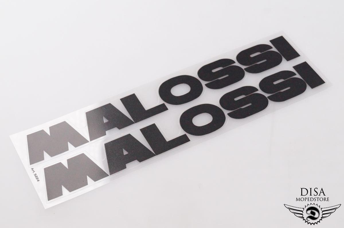 Malossi Aufkleber Sticker Satz Schwarz Yamaha Aerox Unterboden ...