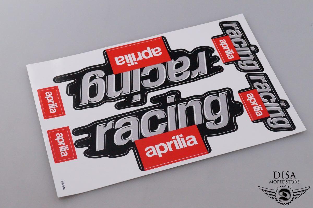 Aprilia Racing Aufkleber Sticker Satz Dekor Unterboden Verkleidung ...