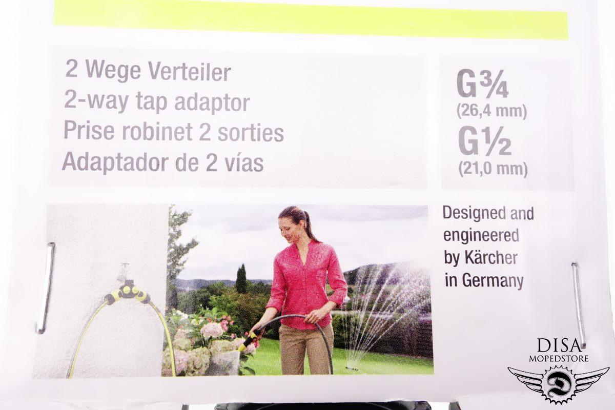 5 x Kärcher 2-Wege Verteiler Hahnstück Schlauchverteiler 2.645-199.0 2 Stück NEU