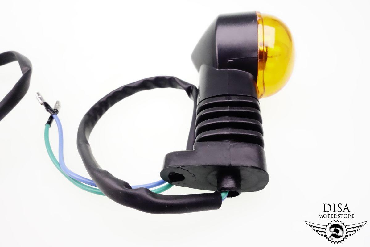 2 st ck blinker set orange vorne hinten roller scooter atv. Black Bedroom Furniture Sets. Home Design Ideas