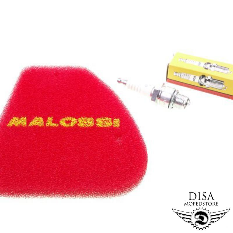 SPEEDFIGHT 2 50 2T LC 2004 Luftfiltereinsatz MALOSSI Double Red Sponge