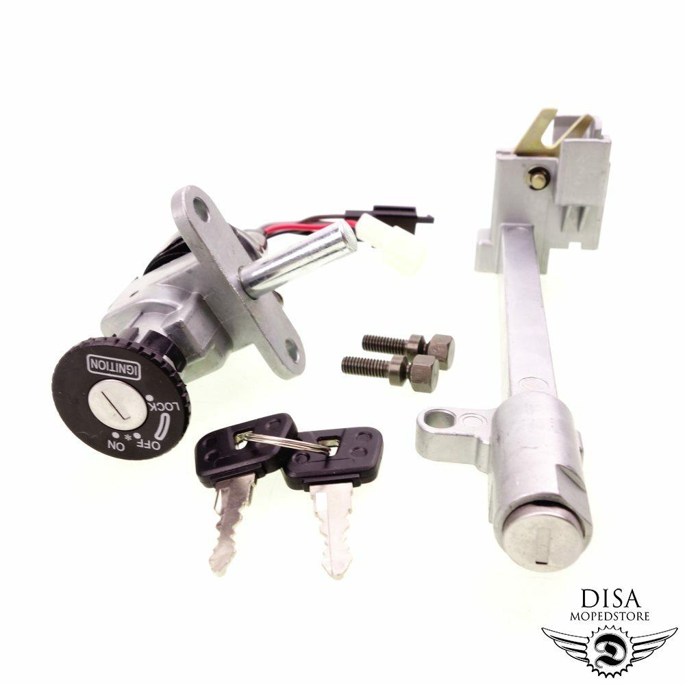 Schlosssatz Zündschloss Schoß für Yamaha BWS BW NG MBK Booster RS CW 50 NEU *