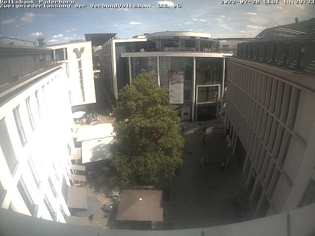 Webcam Kötterhagen - Neubau Volksbank