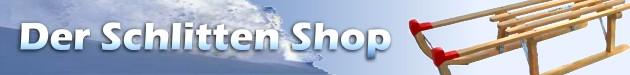 Der Schlitten Shop - Schlitten Davos Schlitten, Holzschlitten, Hörnerrodel, Bobs, Ski Bobs