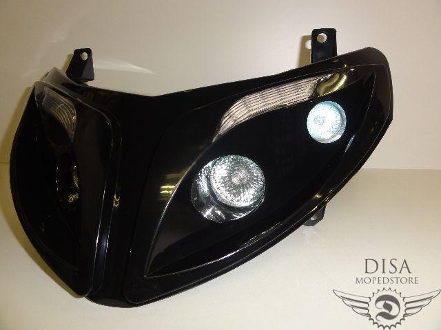 halogen led headlights peugeot speedfight 2 tuning. Black Bedroom Furniture Sets. Home Design Ideas