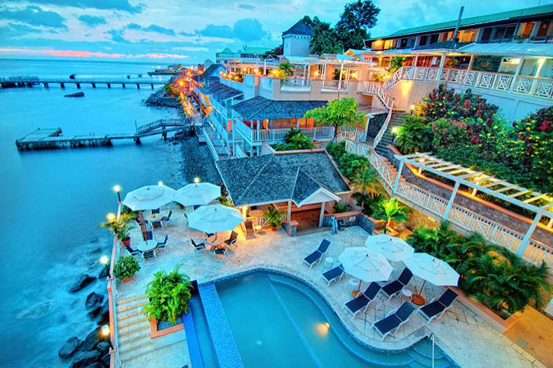 Fort Young Hotel | Waterfront | © Fort Young Hotel