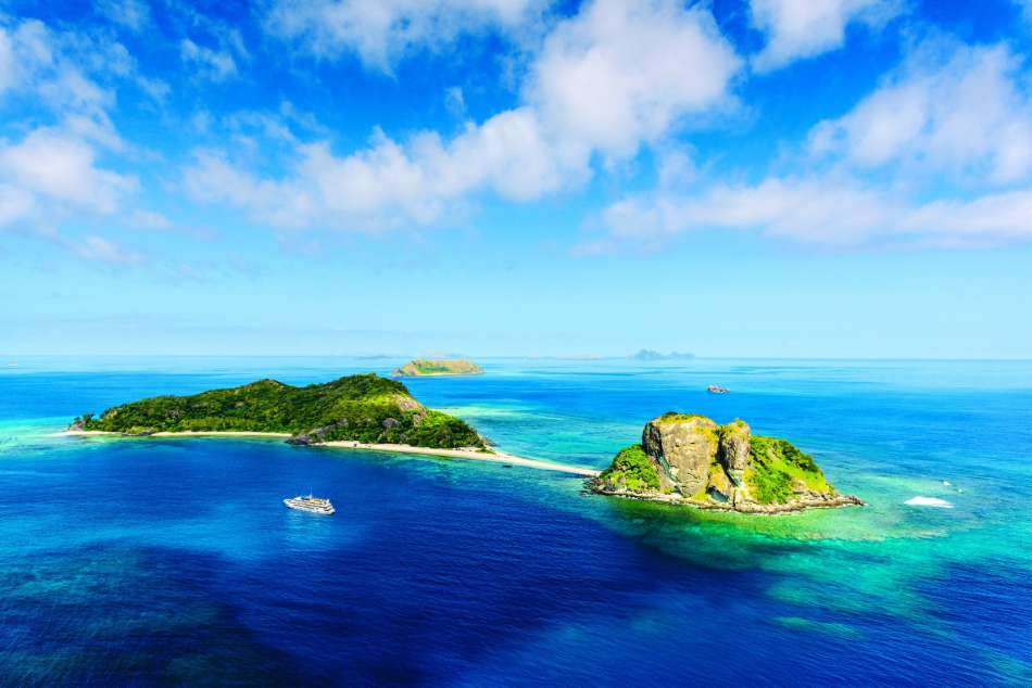 Fiji Islands | Die Sacred Island Group in den Mamanucas | © Blue Lagoon Cruises