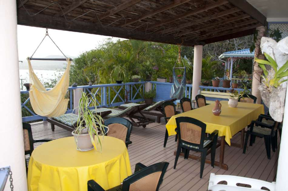 Villa Caribbean Dream | Terrasse am Haupthaus | © Ti Hotels 2016